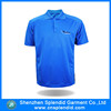 wholessale clothes high quality cheap blue blank polo shirt