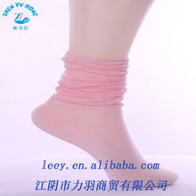 Slouch Rib Ladies Ankle Socks, Acrylic Light and Thin Dress Sock Factory