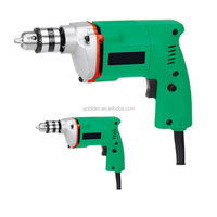 Hot selling India Market 10mm 350w Power Hand Drill Machine Portable Electric Impact Drill 10mm