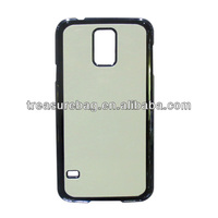 Newest Sublimation hard PC phone case for Samsung galaxy S5 with aluminum sheet