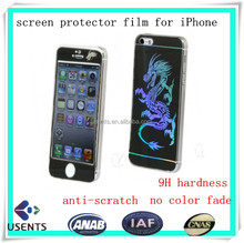 factory wholesale screen protector glass film, tempered glass screen protector for iphone6