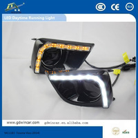 aluminum material product led car lights daytime running lights for Toyota Vios (2014)auto assembly used auto part