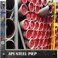Steel pipes for api spec5l products specification level is number one(PSL1)