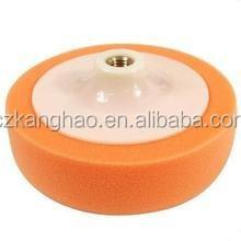 Polyurethane foam wax polishing pad, automobile polishing pad high quality free sample