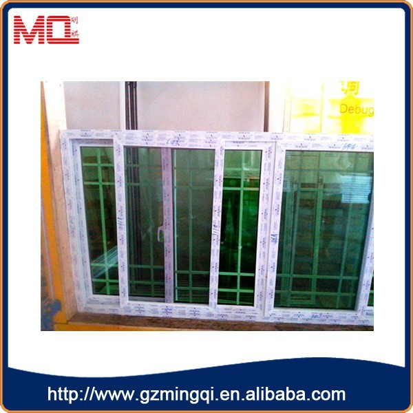French residental new house vinyl wrought window grill for Vinyl window designs ltd complaints