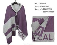scottish cashmere scarf lady winter warm pashmina shawl capes