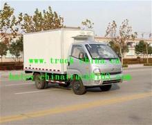 small refregerated box van truck