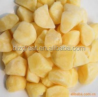 best quality hot sales Frozen sweet IQF diced potato