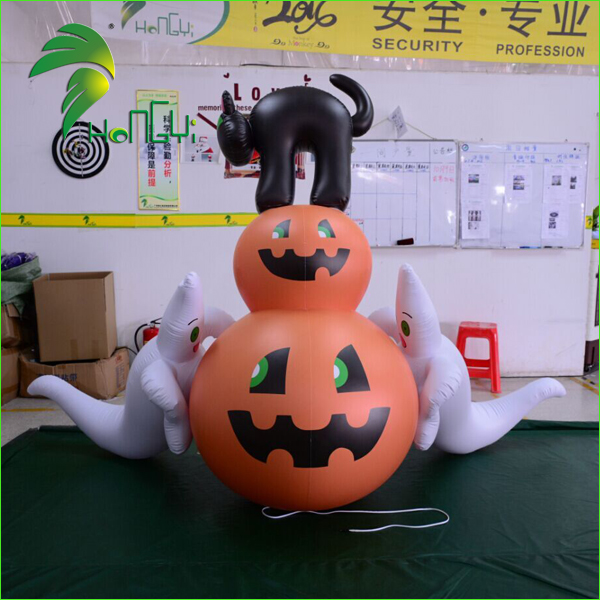 pumpkin with ghost (4)