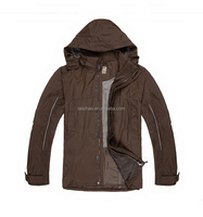 100% polyester lightweight waterproof jacket for men 2016 NEW