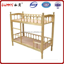 kids bunk bed with slide parts and guardrail