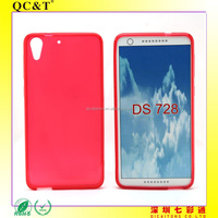 AAA quality factory price Soft TPU Inner Scrub Case for HTC