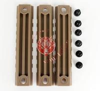 пакет из 3 шт тактических полимер стандартная планка Пикатинни ж / 7 слотов для g36c цевье g36 airsoft ОД
