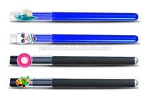 Fine craft and novel idea office promotional items pens/creative promotional items pens with high end designed branded clip