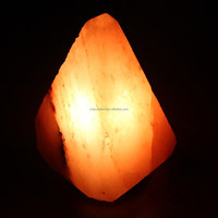 Hand Crafted Natural Shape available himalayan rock Salt Lamp from Pakistan