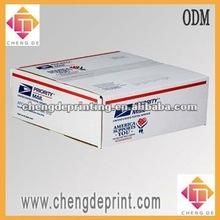 printed mailing box