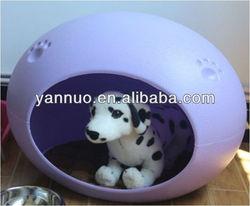 plastic dog kennel,egg-shape dog kennel