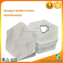 Dinnerware fashion polished marble mats/coaster home furnishings