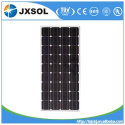 China good pv supplier, JX top quality good price 100w mono solar panel with CE, TUV, UL