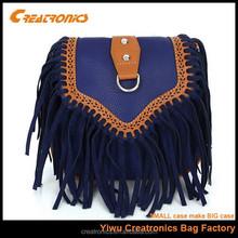 Fashionable small sen female long single shoulder bag,fringe tassel bag