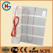 UV protected electric heated underfloor heating mat