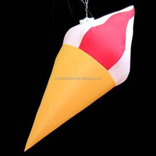 inflatable Ice-cream cone/ice cream inflatable balloon for summer promotion