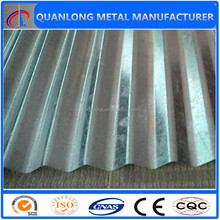 high quality zinc corrugated roofing panel