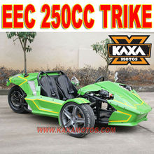 EEC 250cc Trike Chopper Three Wheel Motorcycle