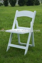 party resin folding chair