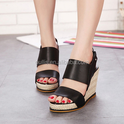 ladies wedge footwear fashion girls shoes 2015 brands shoes PM3574