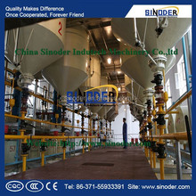 Professional sunflower,rapeseed,cotton,soybean oil refinery/ crude cooking oil refinery machine for hot sale