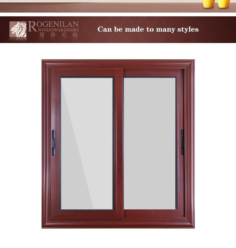 Rogenilan 88# Wooden Color Aluminium Design Steel Window Frames Door ...