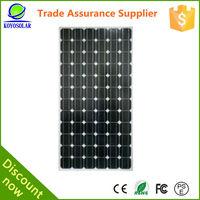 best selling in Guangzhou 190W mono high watt solar panels