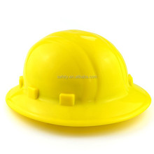 Industrial/Construction/Mining full brim hard hat high quality ANSI round safety helmet