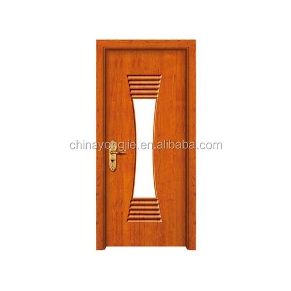 New design popular mdf finger joint fir wood pvc exterior for Finger joint wood doors