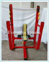 High quality precor gym equipment / Olympic Seated Bench HP - 33 / curves fitness equipment for sale