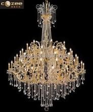 Italy Design Big Glass Ar Light Lusters De Cristal Modern Chandeliers Lights Fixture for Dining Living Room CZ6101/54