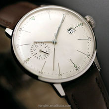 High quality vogue chronograph function mans cool watch from guangzhou watch market