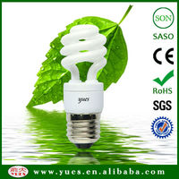 half spiral cfl umbrella energy saving lamp light bulbs