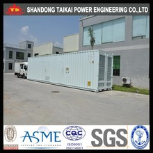500KW 625KVA three phase soundproof small volume super silent diesel generator