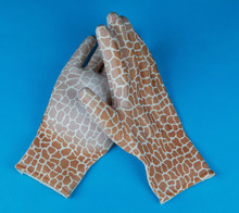 13G polyester liner, excellent finger protectors with pu coated garden gloves
