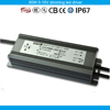 CE RoHS tuv waterproof led driver constant voltage 80W 12V 0-10V dimming led transformer