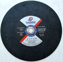 Abrasive silicon carbide cutting disc / disk for stone and concrete