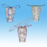 women's nonwoven disposable underwears/T-back/bikini/lingerie for spa