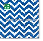 2013 ocidental design impresso chevron papel partido guardanapos