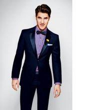 Custom Men suit (coat+pants) slim fit