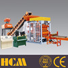 QT5-15 automatic cement block machine good price concrete block machine with two free mould