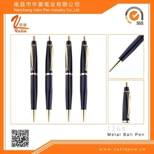 Hot Sale Businessman Favourite Elegant Metal Ball Pen gift for gents