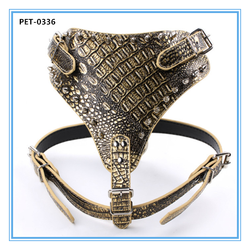 Hot Sale Cheap Pet Products Spikes Studded Leather Dog Harness