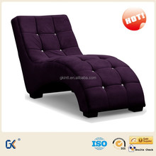 Modern fabric Lounge chair, luxury chaise lounge, sex Lounge chair
